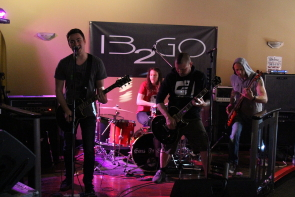 13 to Go were among the local acts playing a fundraiser for the humboldt Broncos, May 12. Photo by Richard Amery