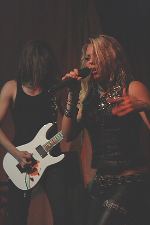 Kobra and the Lotus unloaded the metal on  the Slice, July 14. Photo by Richard Amery