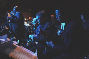 the Contemporary Jazz Works Orchestra. Photo by Richard Amery