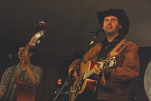 Tim Hus plays a special Movember fundraiser at the Owl, Nov. 24. Photo by Richard Amery