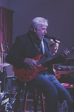 Jim Byrnes and Steve Dawson will be playing Mississippi Sheiks music, Feb. 2. Photo by Richard Amery