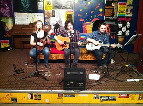 Winnipeg band the Hollerin' Pines play Lethbridge, Aug. 17. Photo submitted