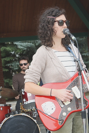 Brenna Lowrie was one of several Lethbridge acts playing CKXU's Love and Records in September. Photo By Richard Amery