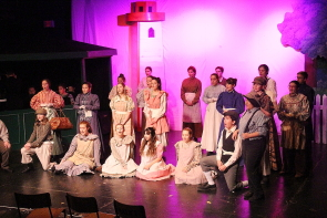 LCI is putting on a huge production of Anne of Green Gables  this week. Photo by Richard Amery