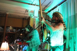 Bend Sinister playing the Owl Acoustic Lounge, Sept. 18. Photo by Richard Amery