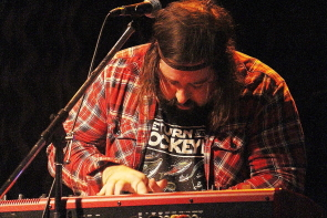 Dan Moxon of Bend Sinister at the Slice, Oct. 18. Photo by Richard Amery