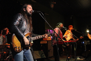 Bend Sinister at the Slice, June 22. Photo by Richard Amery