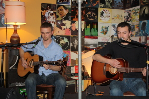 The Bryant Watson Duo are among many local acts playing this week. Photo by Richard Amery