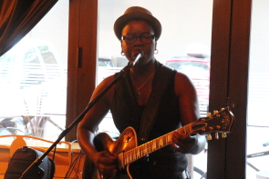 Cecile Doo Kingue at Plum. Photo by Richard Amery