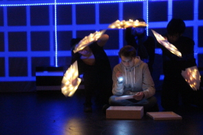 Chinook High School presents The Curious Incident of the Dog in the Night-, Dec. 12-15. Photo by Richard Amery