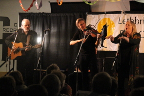 Connie Kaldor and her family performa  sold out shoew for the Lethbridge Folk Club. Photo by Richard Amery