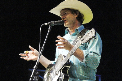 Corb Lund playing Whoop Up Days, Aug. 20 at Exhibition Park. Photo  by Richard Amery