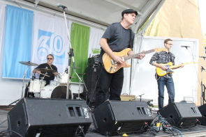 The Steve Keenan Band playing Couleefest. Photo by Richard Amery