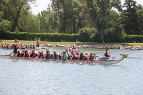 The Rotary Dragon Boat Festival is always a lot of fun. Photo by Richard Amery