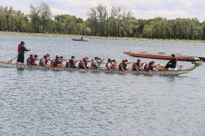 The ATB Rotary Dragon Boats Festival is this weekend. Photo by Richard Amery
