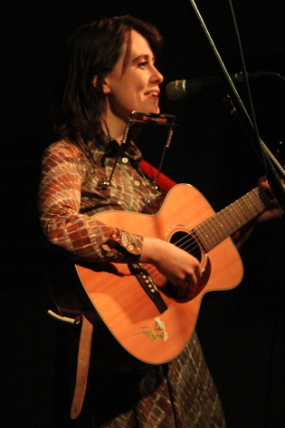 Ellen Froese opening for Kacy and Clayton at the Geomatic Attic, Dec. 11. Photo by Richard Amery
