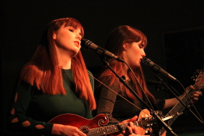 Fionn aka Alanna and Brianne Finn-Morris, opened for Royal Wood in Lethbridge, May 22 and 23. Photo by Richard Amery