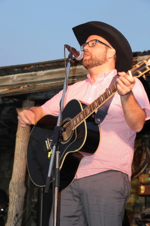 Gabriel Thaine, playing Bigwood 10 on the weekend, plays Applefest this weekend. photo by Richard Amery