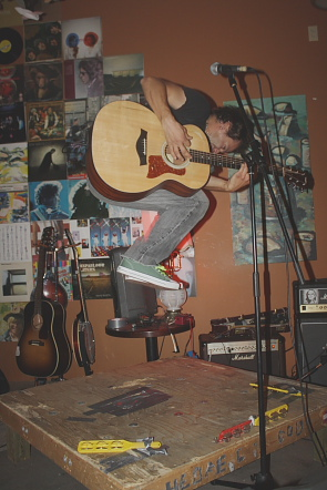 Greg Rekus returns to the owl Acoustic lounge to hos tthe Jan. 7 open mic. Photo by Richard Amery