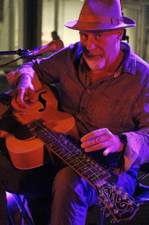 Harry Manx at Wide Skies Muusic Festival, July 310. Photo by Richard Amery