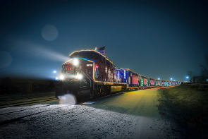 The CP Holiday Train visits Lethbridge, Dec. 10. Photo submitted