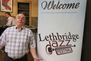 Don Robb welcomes everyone to come to the Lethbridge Jazz Festival, June 10-13. Photo by Richard Amery
