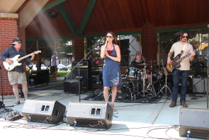 The Jolene Draper band and many other local musicians are playing a fundrauser for Waterton Lake wildfire victims. Photo  by Richard Amery