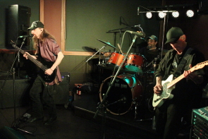 The Mark Hall Band at Legends pub, Dec. 16. Photo by Richard Amery