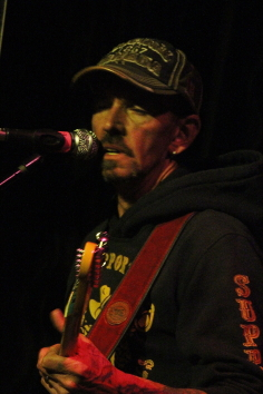 Mark Hall at the Slice, Aug. 8. Photo by Richard Amery