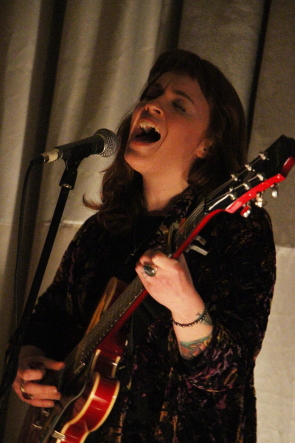 Megan Nash played an emotional performance in Lethbridge, Feb. 21. Photo by Richard Amery