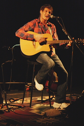 Mike Maguire playing the Sterndale Bennett Theatre. PHoto by Richard Amery