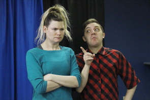 Don't miss Munsch-o-Rama. Camille Pavlenko and Ryan Reese are looking forward to it. photo by Richard Amery