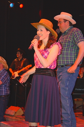 Fred Hillyer and Kathy Zaborsky are a highlight of 'Rockin'  the Country.' Photo by Richard Amery