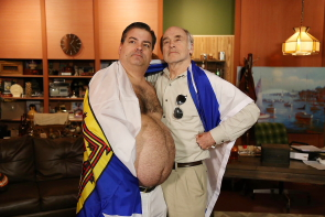 Randy and Mr. lahey return to Lethbridge this weekend. photo submitted