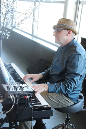 Randy Epp will be part of the Suppertime jazz club for the Lethbridge Jazz and Blues Festival. photo by Richard Amery