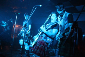 The Real McKenzies return to rock Lethbridge this week. Photo by Richard Amery