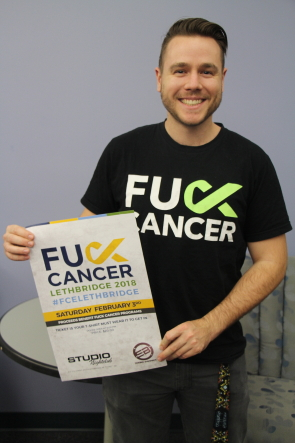 Riley Miller is excited for this year's Fuck cancer event at Studio. Photo by Richard Amery