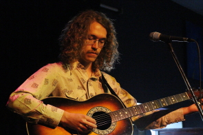 James Phinney placed third in the South Country Fair songwriting competition. Photo By Richard Amery