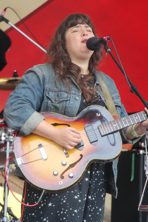 Abigail Lapell at the South Country Fair, July 20. Photo by Richard Amery