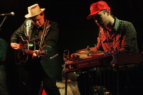 Sean Burns and Skinny Dyck at Casino Lethbridge. photo by Richard Amery