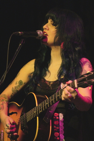 Shaela Miller plays a a couple of local shows this week. Photo by Richard Amery