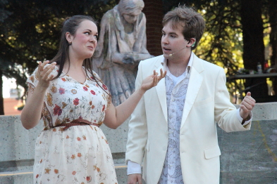 Shakespeare in the Park auditions are on Saturday afternoon at Casa. Photo by Richard Amery
