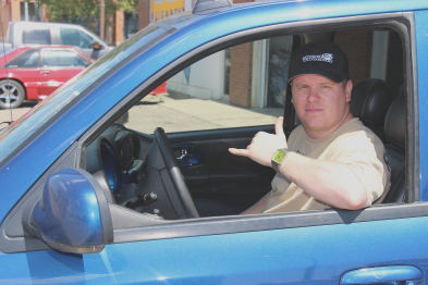 PJ Nadeau is looking forward to the Street Machine weekend. Photo by Richard Amery
