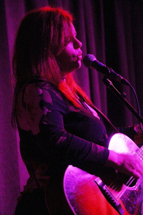 Suzie Vinnick playing the Geomatic Attic. Photo by Richard Amery