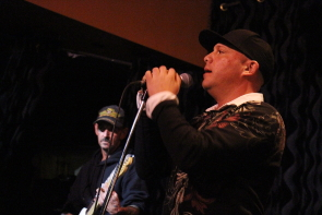 Local musicians paid tribute to the Tragically Hip at the Slice last week. Photo By Richard Amery