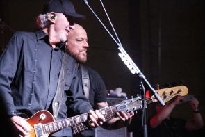 Trooper's Brian Smith and Scott Brown playing New year's Eve at Exhibition Park. Photo by Richard Amery