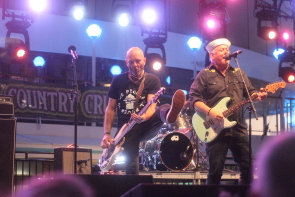 The Waco Brothers on the Outlaw Country Cruise. Photo by Richard Amery