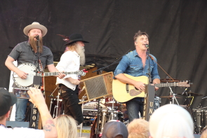 Washboard union return to lethbridge to open for Old Dominion this week. Photo by Richard Amery