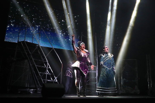 The Killer Queen and Khashoggi in We Will Rock You. Photo submitted
