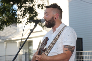 Ryland Moranz at Wide Skies music Festival, July 26. Photo by Richard Amery